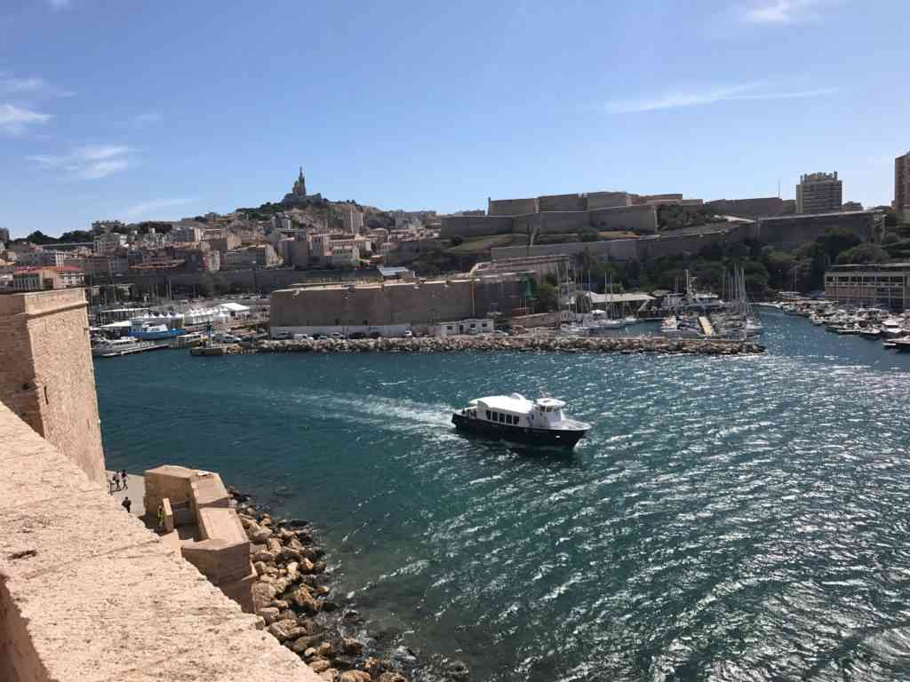 Incredible view from top of Fort Saint-Jean, Marseille, France