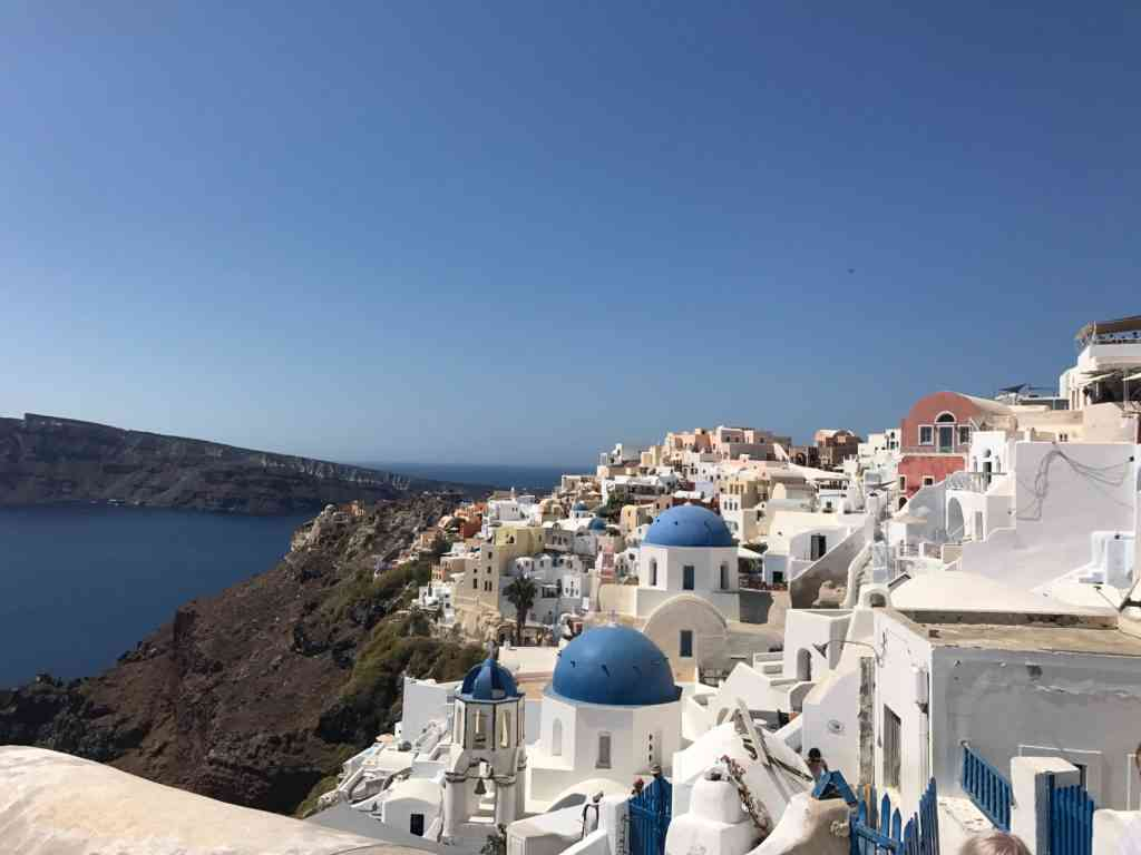 Iconic views from Oia in Santorini