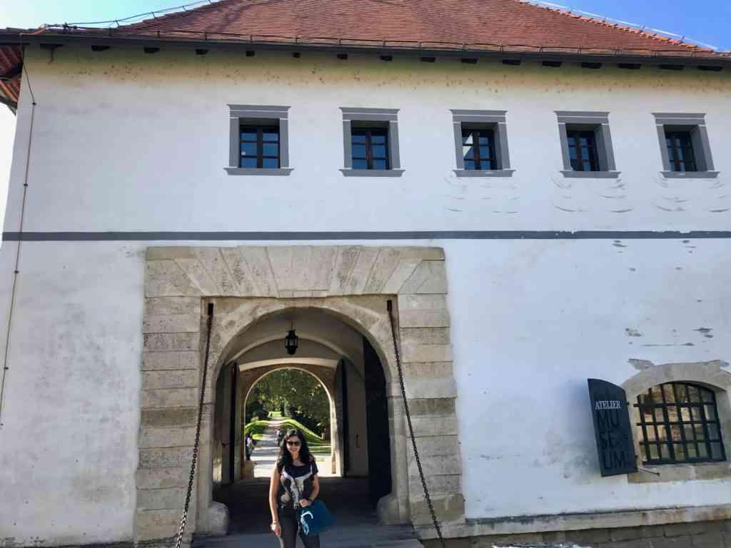 Gate to the castle in Varazdin