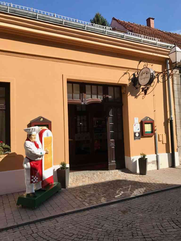 Our restaurant in Varazdin