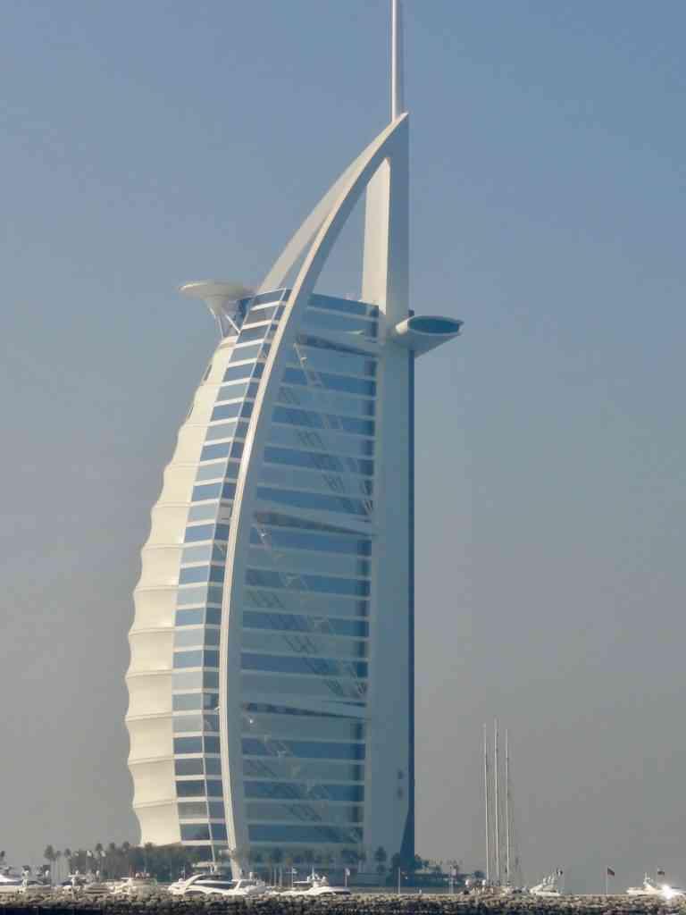 The Iconic Burj Al Arab At Day