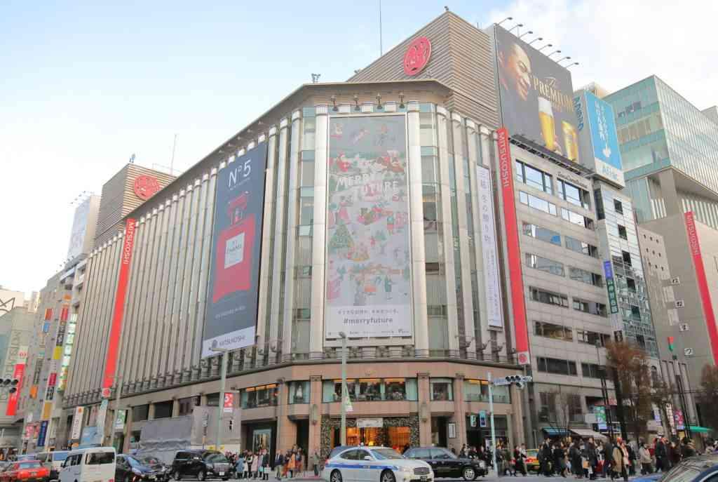 Mitsukoshi department store restaurants in Tokyo