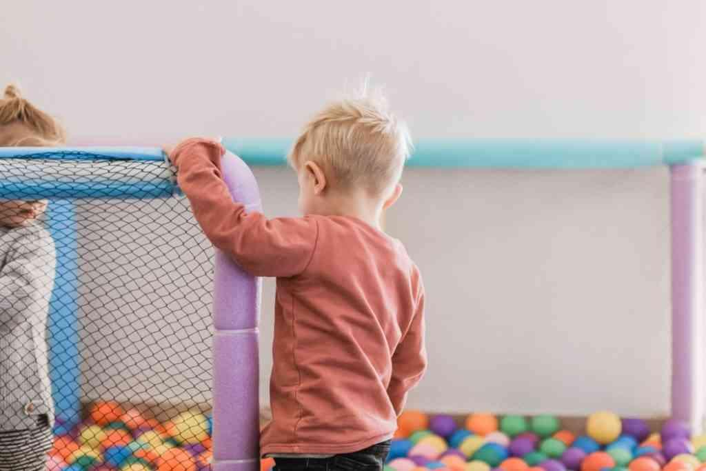 indoor playground ball pit