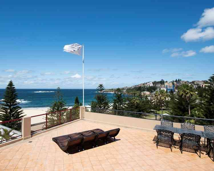 Sundeck at the Coogee Sands Hotel and Apartments