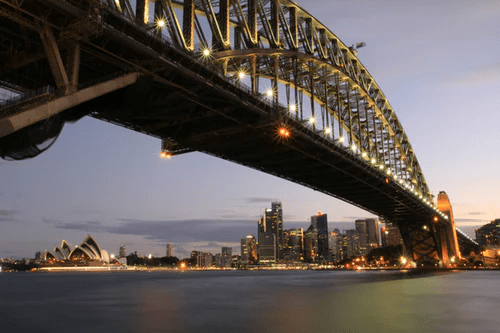 The Sydney Harbor Bridge is a great activity for kids
