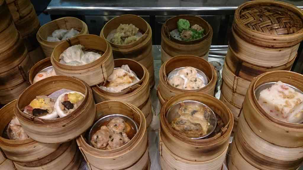 What to eat in Singapore with kids - Dim Sum