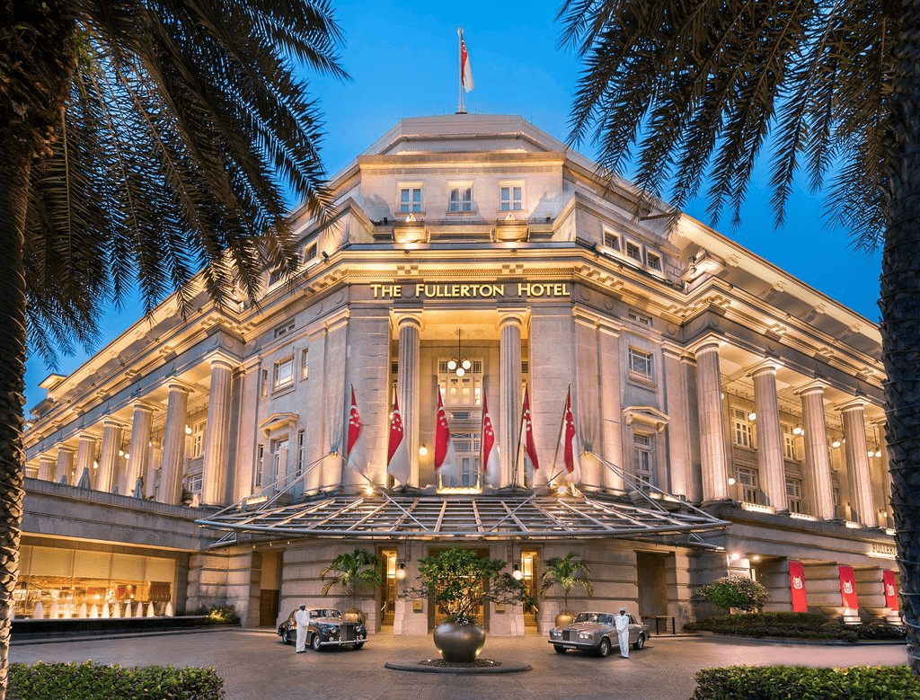 The Fullerton Hotel is  a great luxurious option for kids