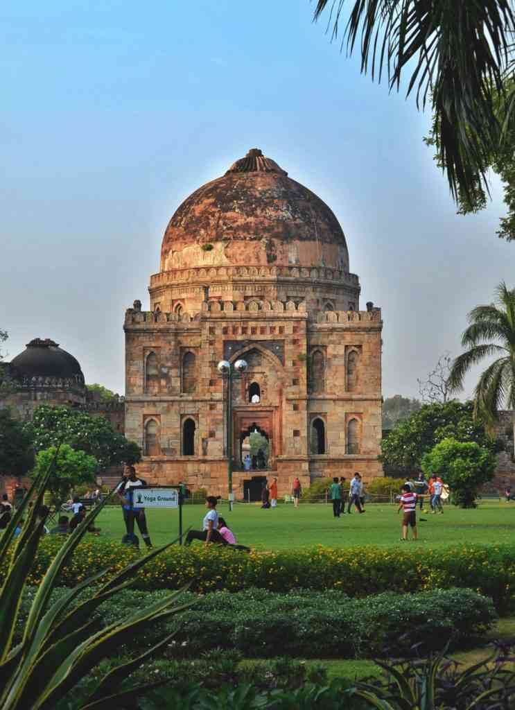 Lodhi Gardens with kids