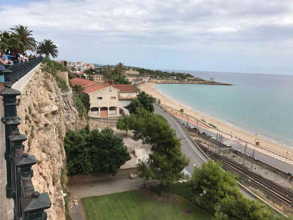 Amazing view of the Mediterranean Balcony in Tarragona