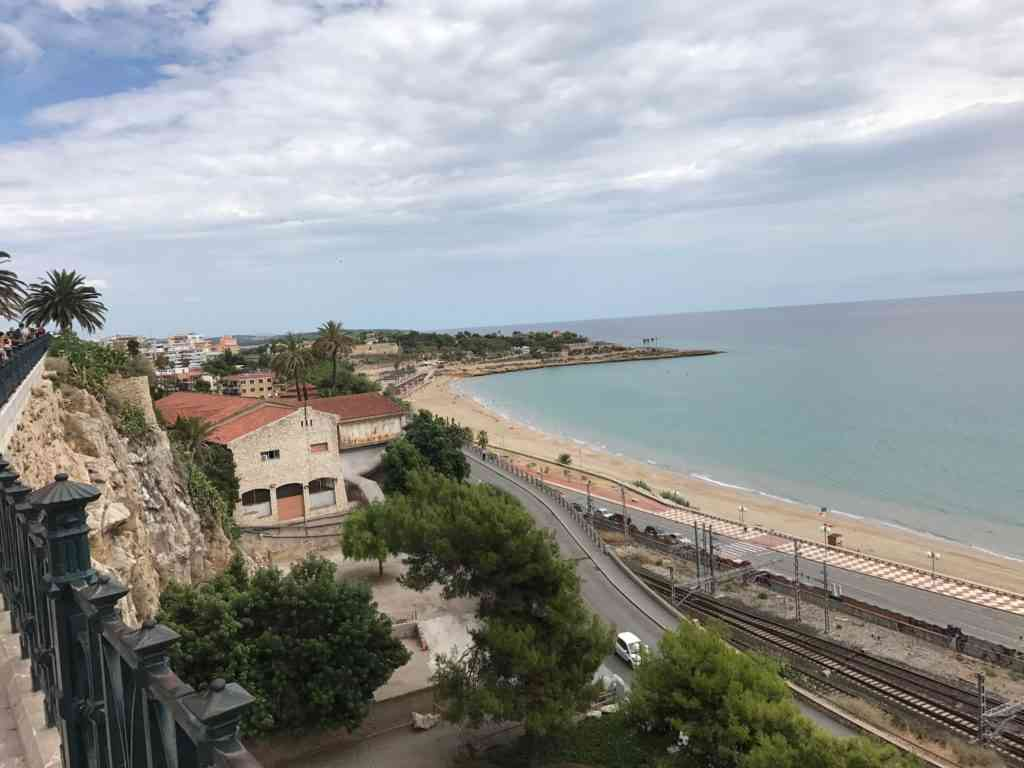 View from the Mediterranean balcony in Tarragona, Spain