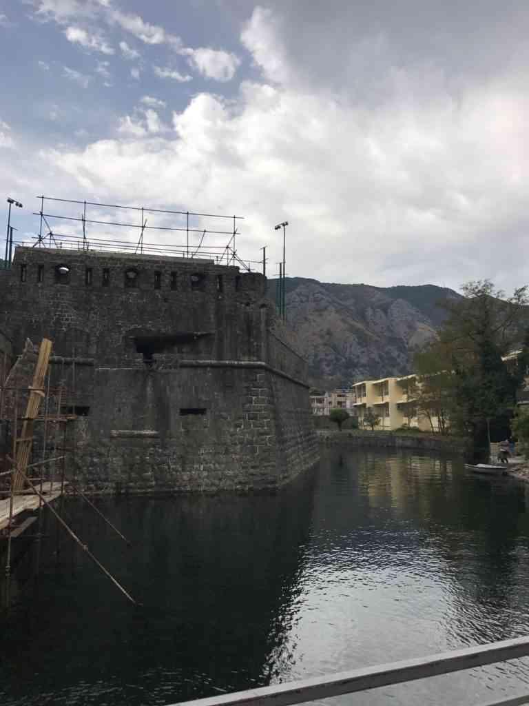 Medieval walls of Kotor's Old City