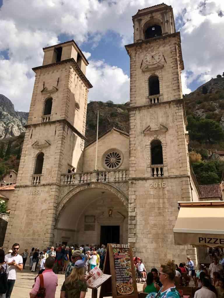 The incredible St. Nikola Church in Kotor