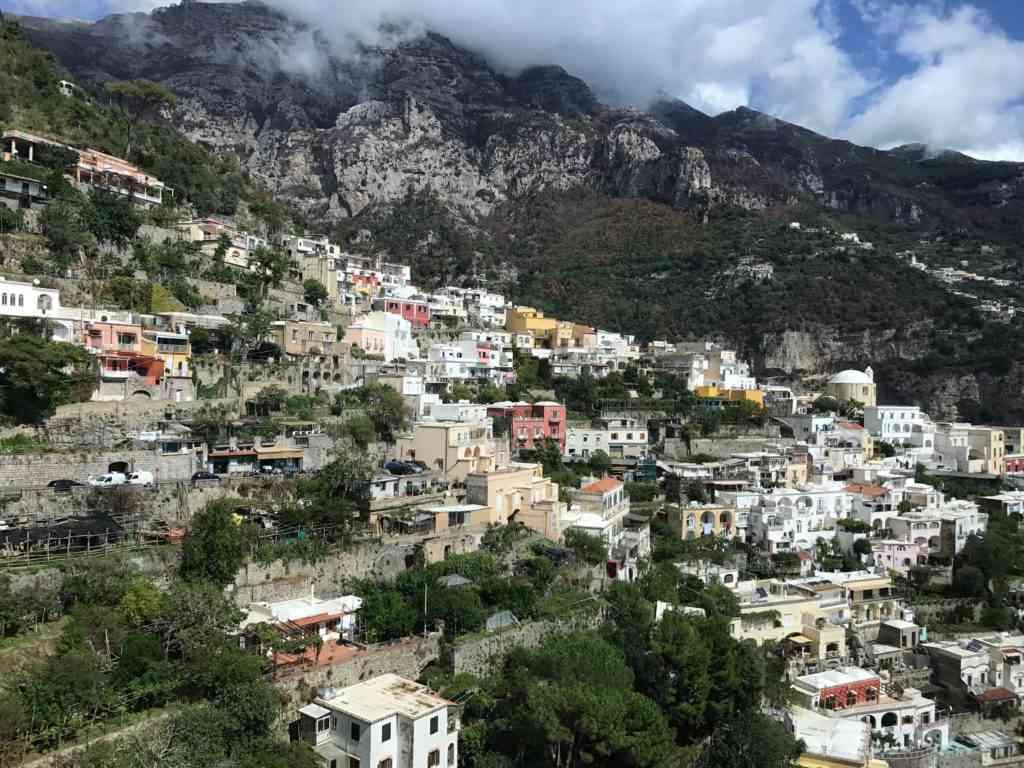 Amazing view of Positano