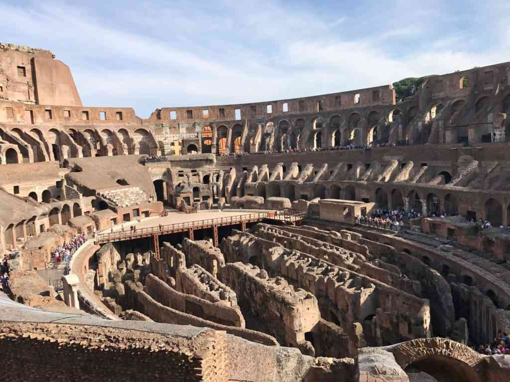 Incredible views of the Colosseum