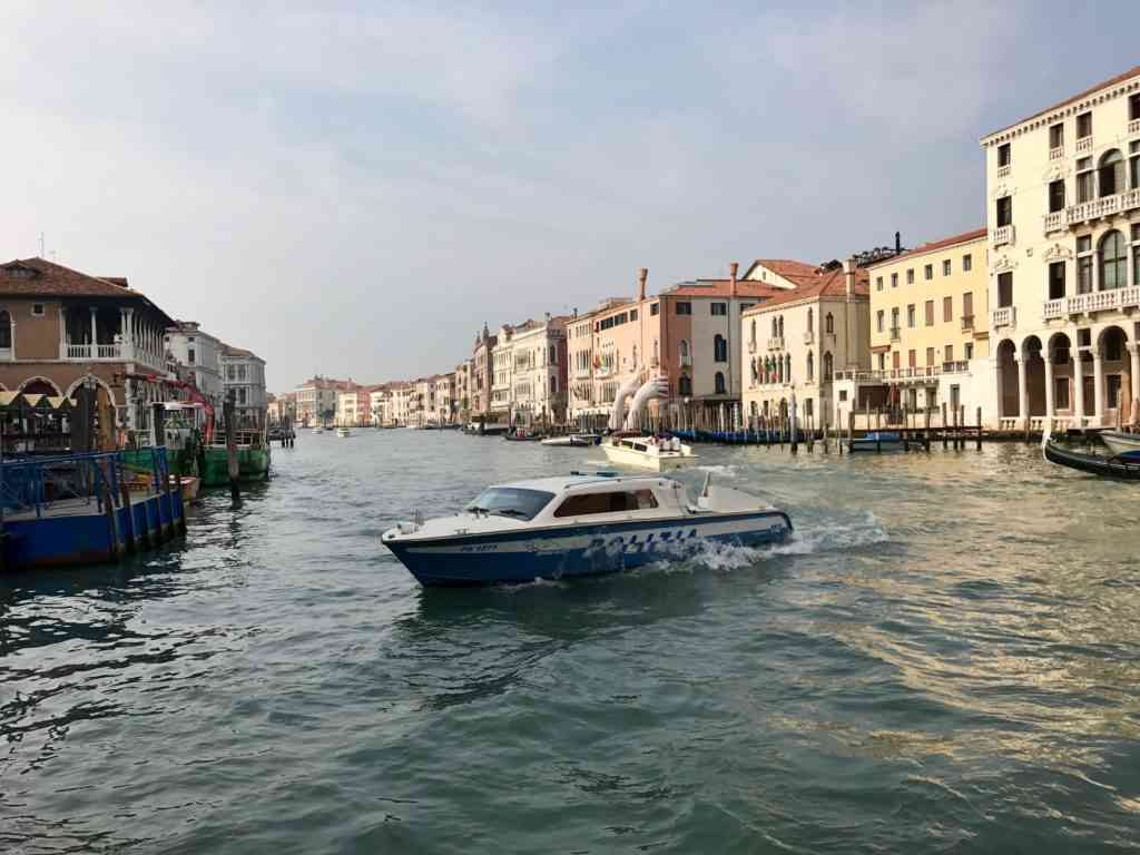 The Grand Canal from the ferry!