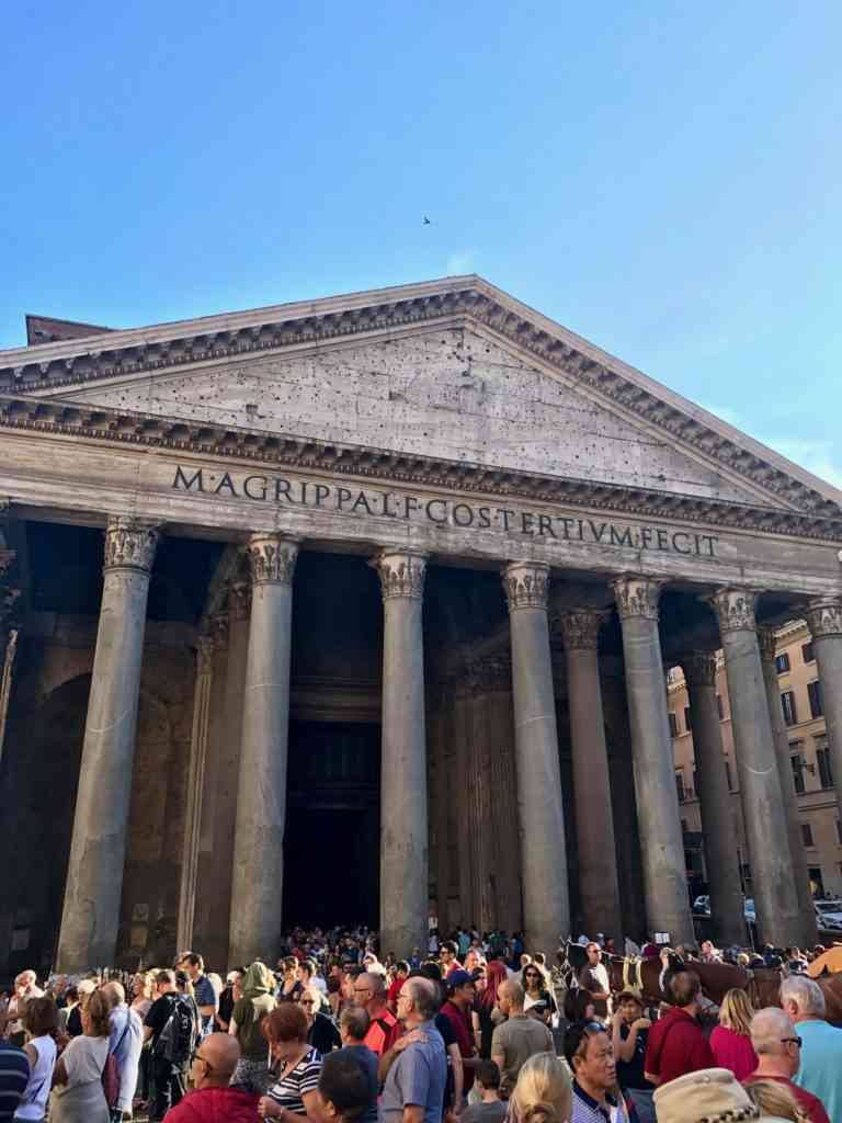 The incredible Pantheon in Rome, Italy