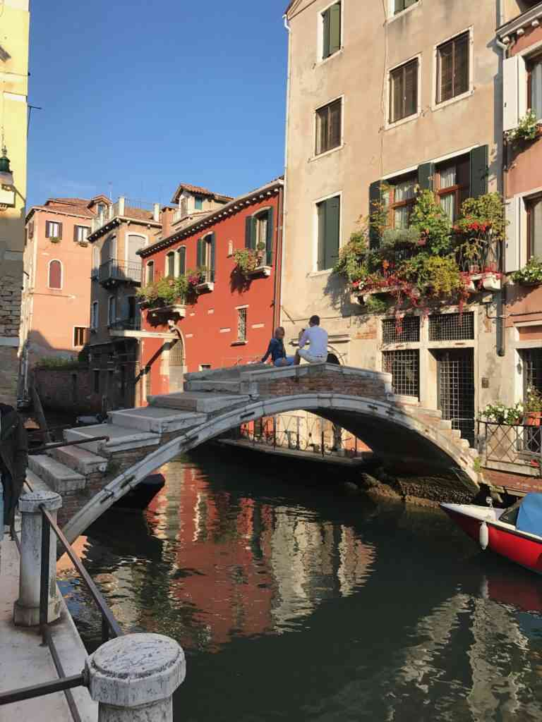 The incredible Ponte de Chiodo (bridge with no railings) in Venice