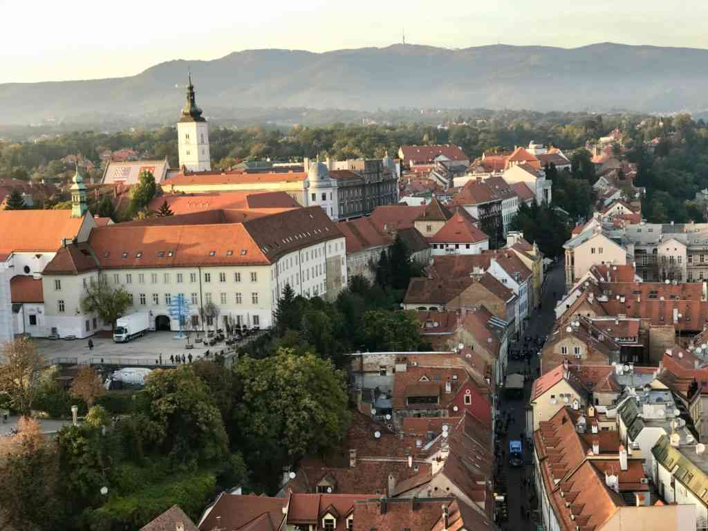 Another beautiful view of Zagreb from Zagreb 360