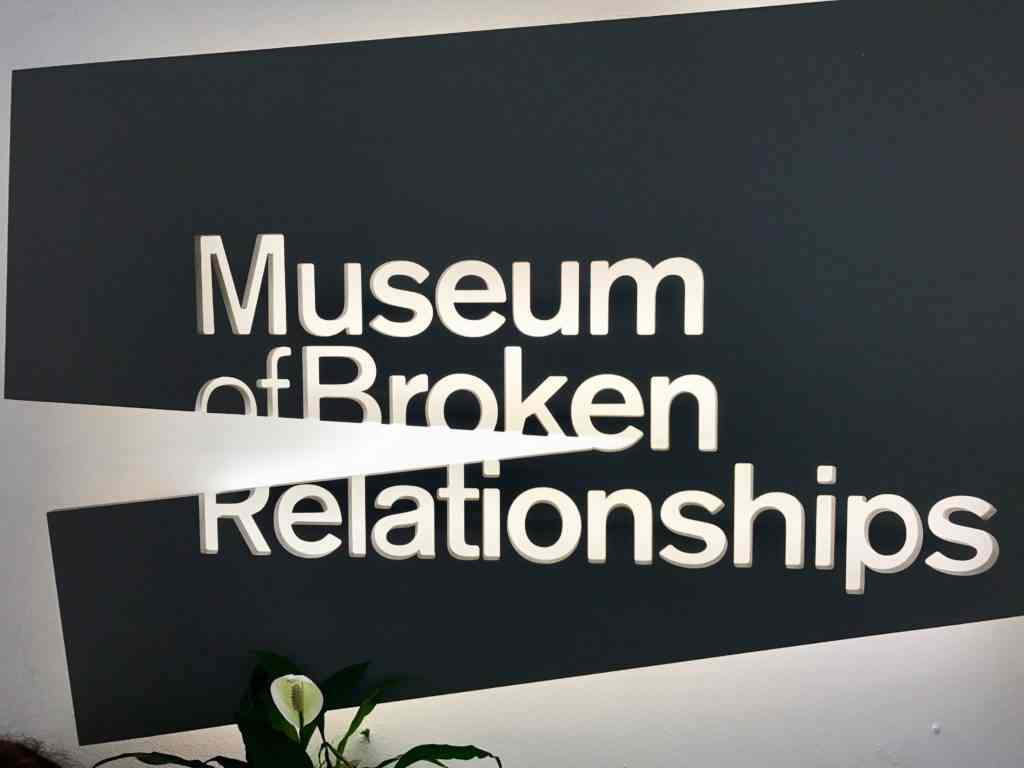 Entrance to Museum of Broken Relationships