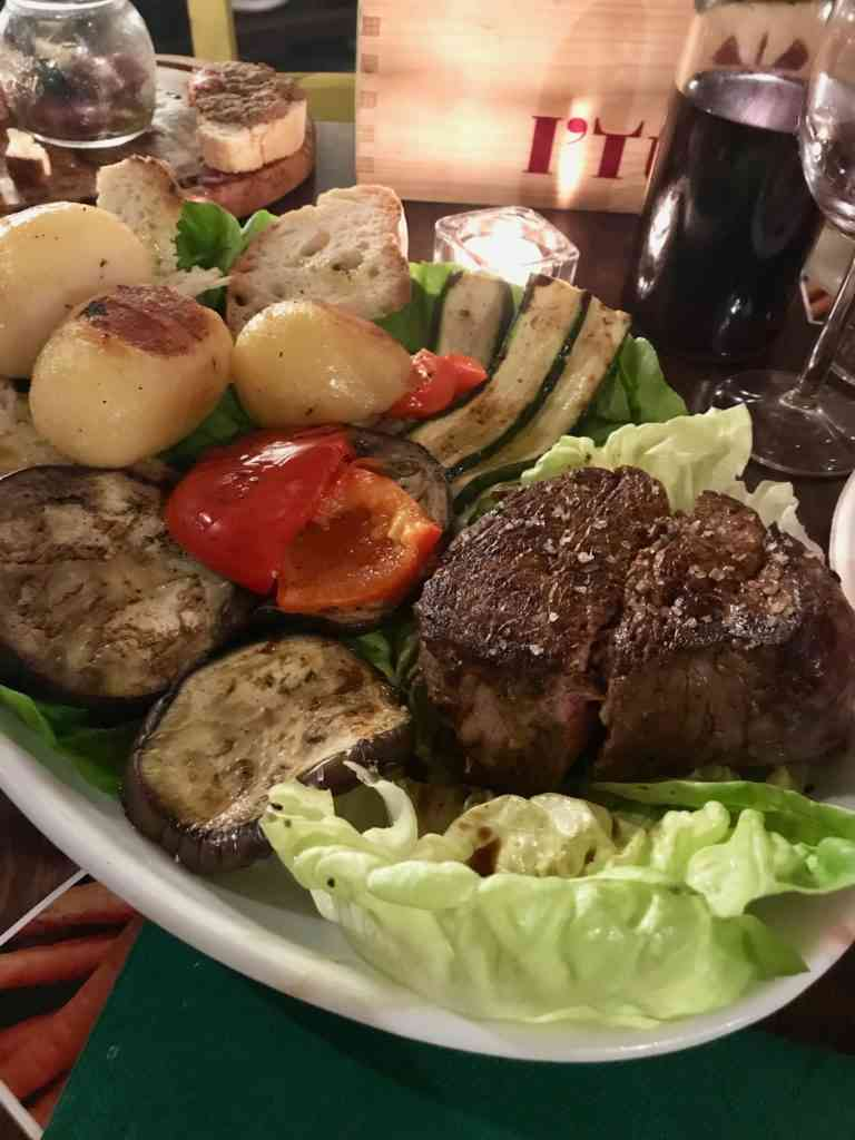 The incredible Florentine steak at I'Tuscany 2