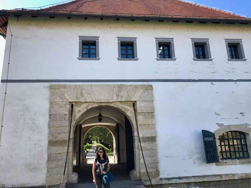 Gate to the castle in Varazdin