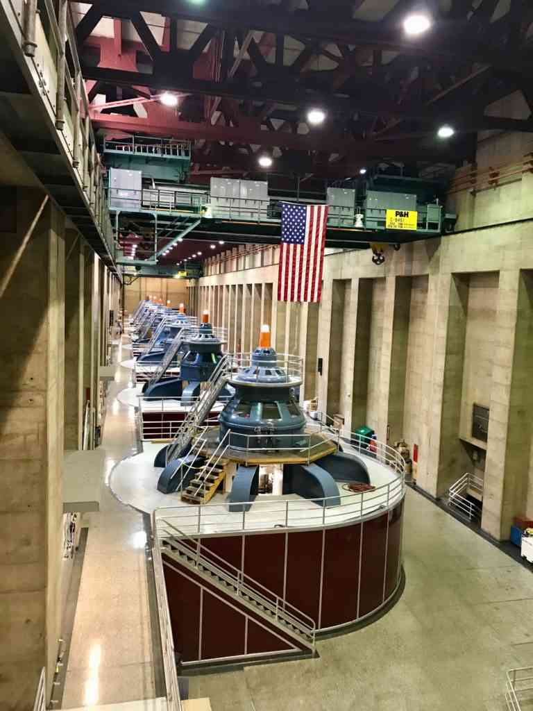 Power plant in Hoover Dam