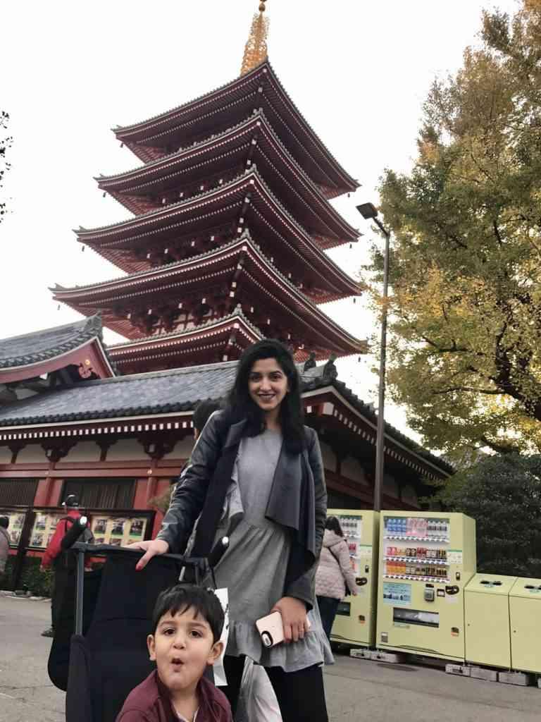 At Asakusa Shrine