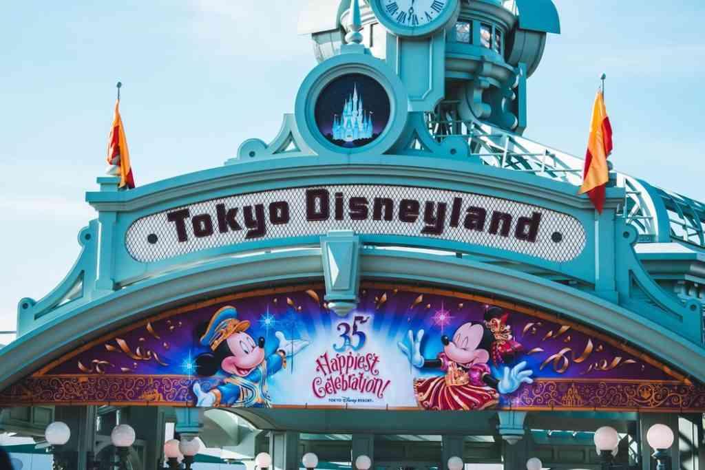 Tokyo Disneyland Tokyo with kids