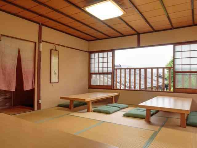 Large kid friendy room at Gion Ryokan Q-beh
