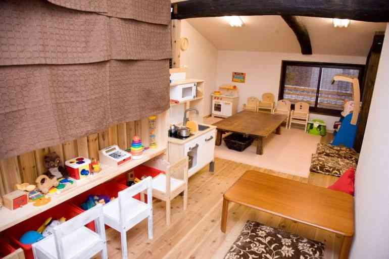 Play room inside Minnano Café