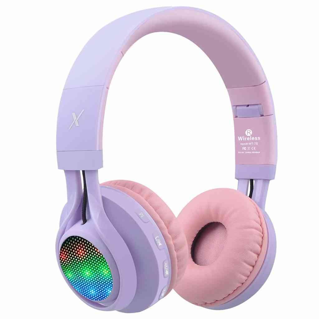 lightup Bluetooth headphones