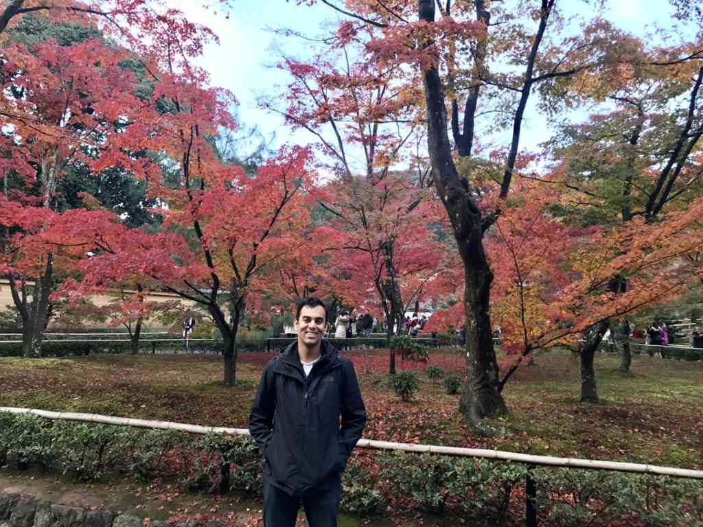 Kyoto in the fall