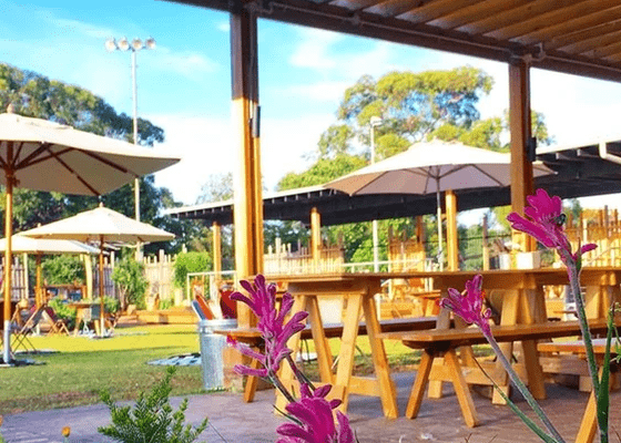 The Acre Eatery is perfect for lunch with kids in Sydney