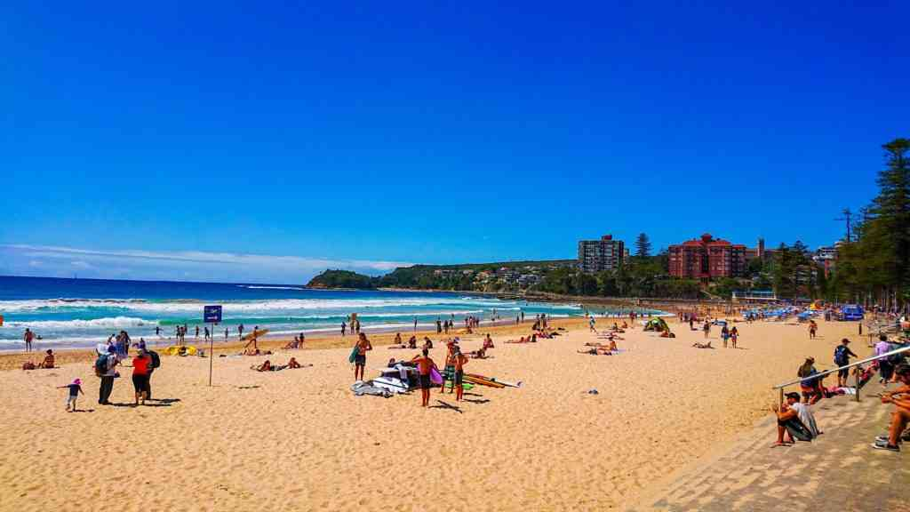 Four Beaches Walk in Manly is great to do with kids