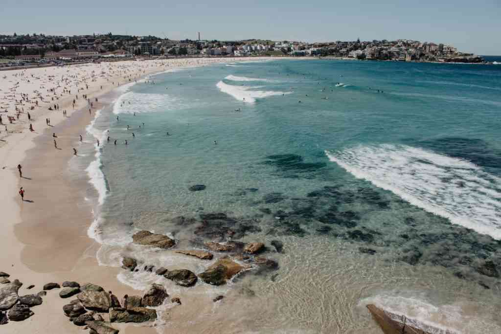 Bondi Beach - an excellent and simple plan if you're wondering about things to do in Sydney with kids