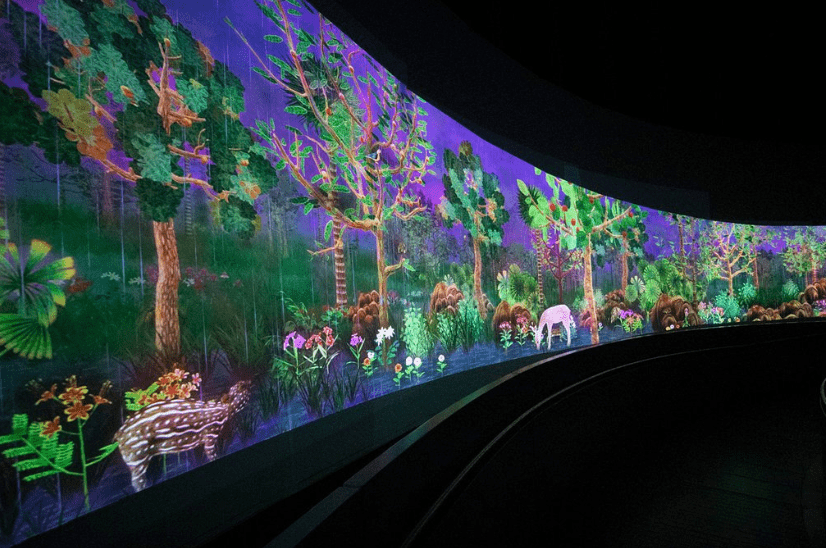 Exhibition for kids at the National Museum of Singapore