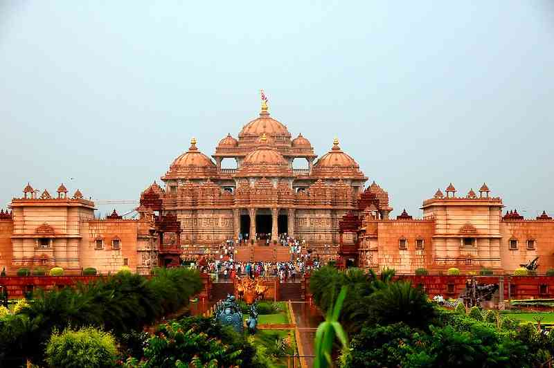 Akshardham Temple - great for kids