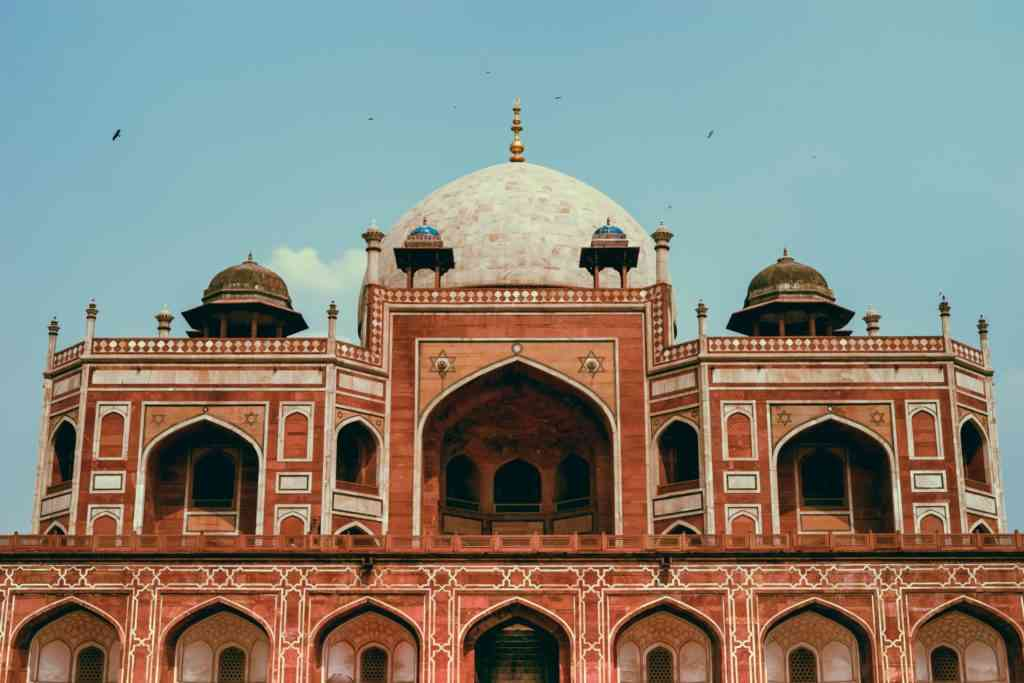 Best things to do in Delhi with kids - Humayun's Tomb