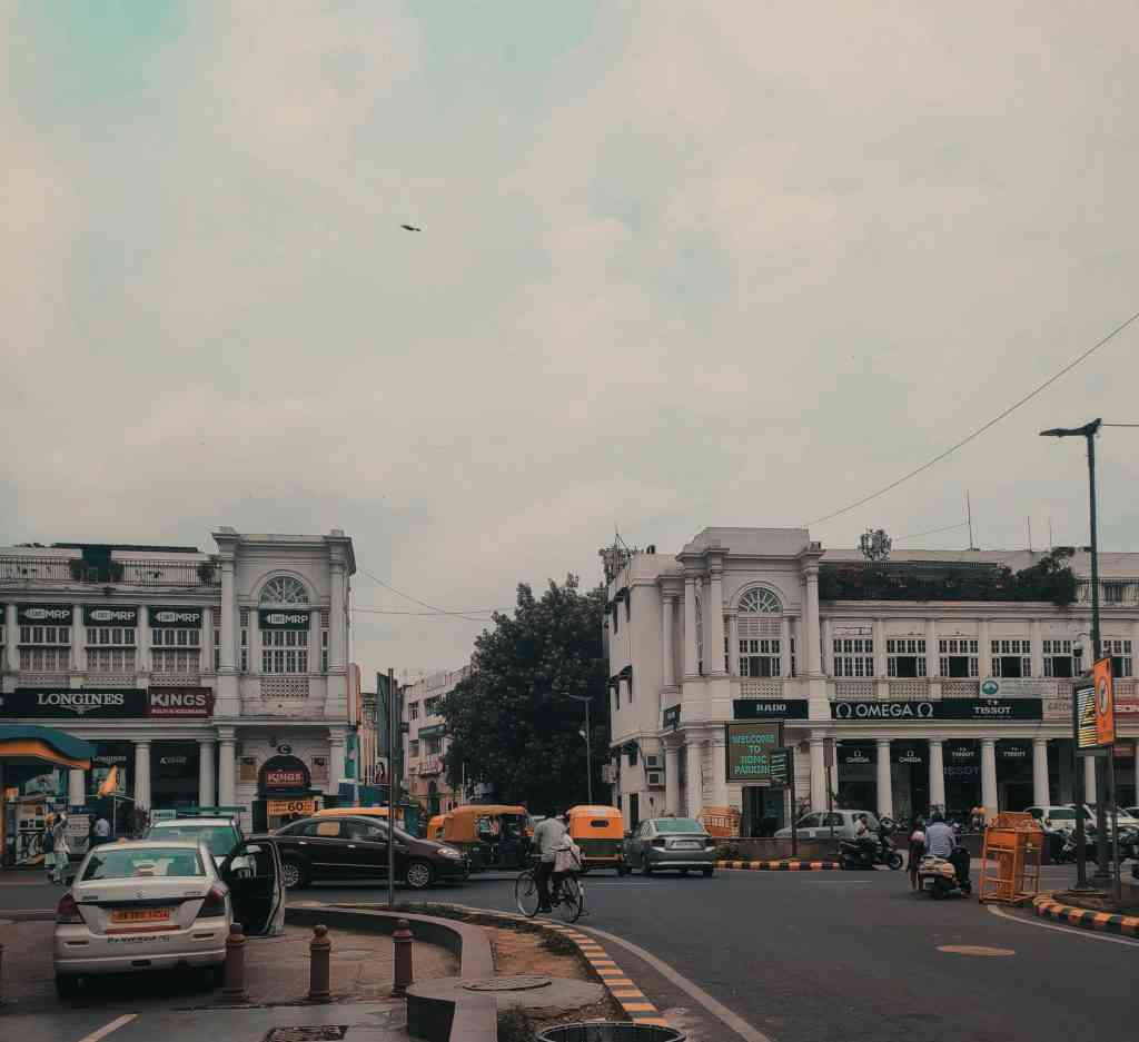 Best areas to stay in Delhi with kids - Connaught Place