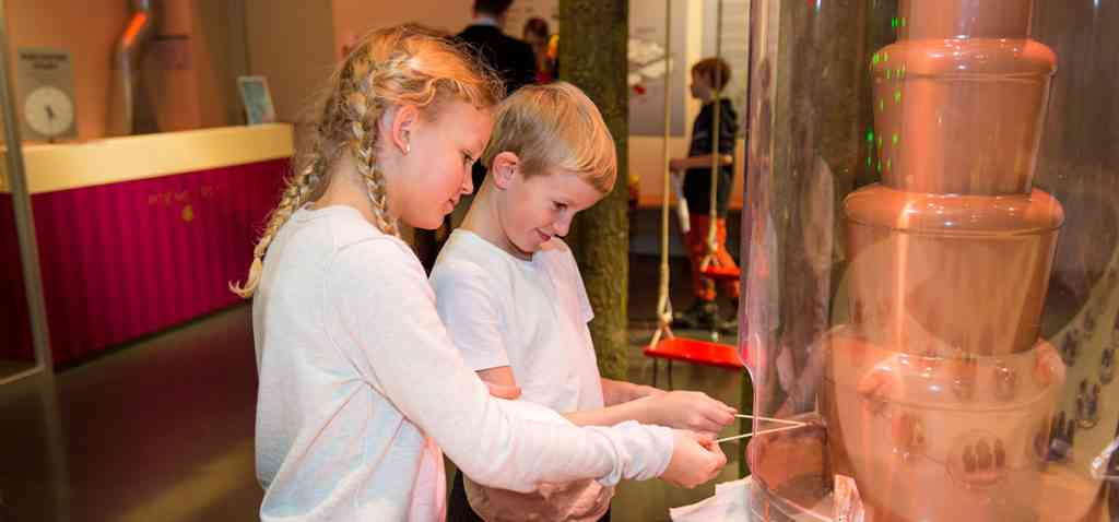 The Chocolate Frey Visitor Center is a great museum to visit in Zurich with kids