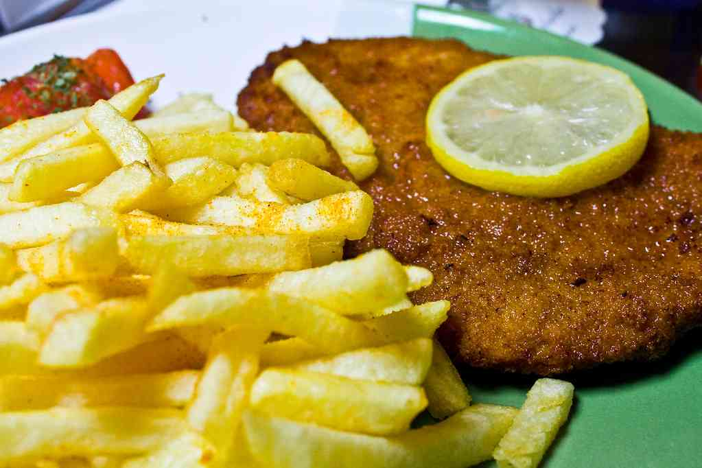 Schnitzel is  the ´perfect meal for kids in Berlin