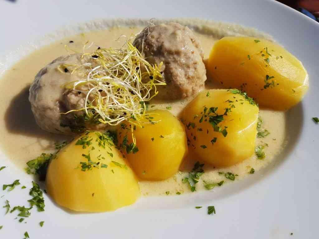 Königsberger Klopse is delicious for kids