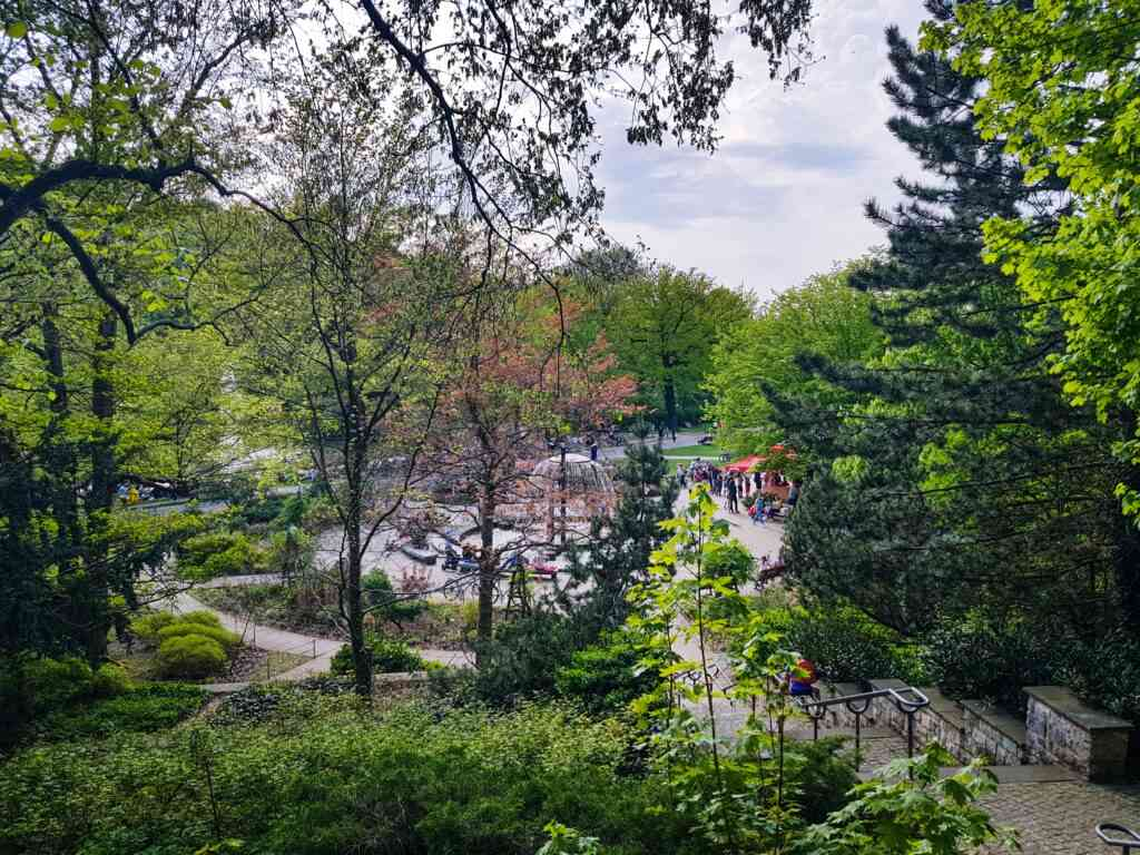 Volkspark Friedrichshain is a great day trip for the family