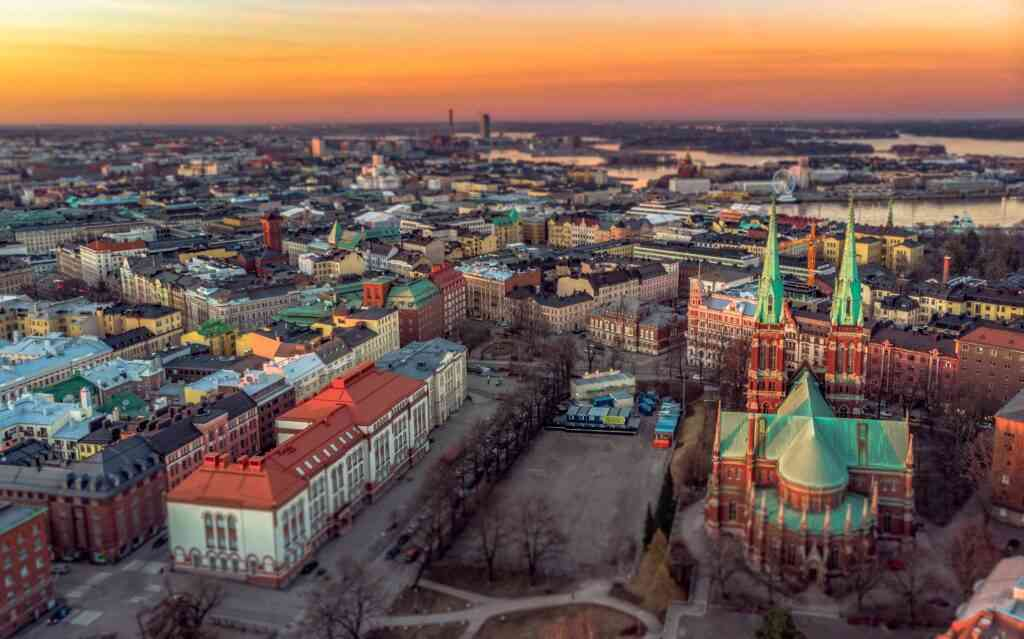 Best areas to stay in Helsinki with kids - Punavuori