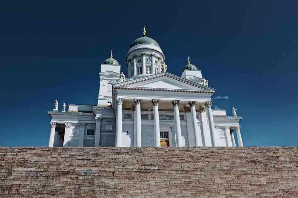 Visit the Helsinki Cathedral with kids